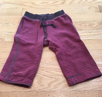 Baby GAP 12-18 Months Pull On Striped Cotton Pants