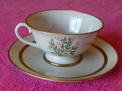 Franciscan (Fremont - Gold Trim) CUP & SAUCER SET(s)  Exc (13 avail)