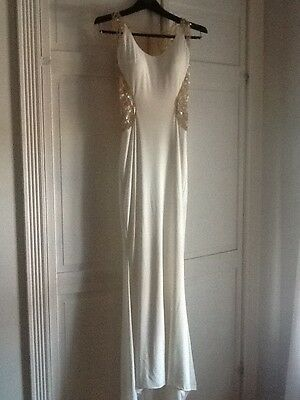 Jovani White Prom Dress Size 0