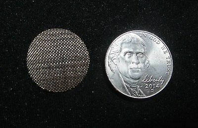 """10 High Quality Brass Tobacco Pipe Screen Filters 3/4"""" .75"""" Ship Disc Avail"""
