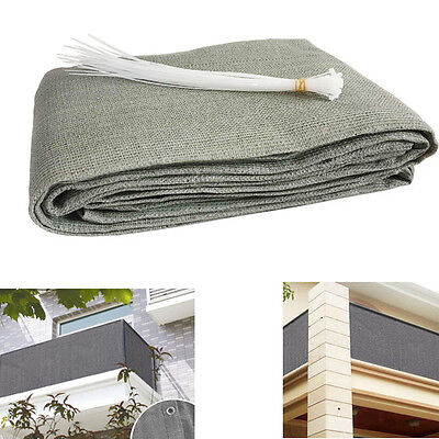 Balcony visibility UV protection opaque weather-resistant balcony covering