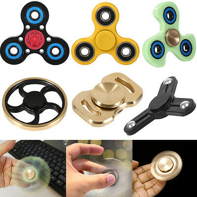 Fingertip gyroscope Hand Finger Toy Gyro Kids Adult Focus EDC Toy Hand Desk NEW