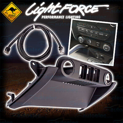 Lightforce Ford Ranger Px2 2015 Fascia Panel Kit Light Switch + Towpro Cable New