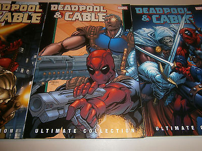 Deadpool And Cable 3 TPB Lot Ultimate Collection 1st