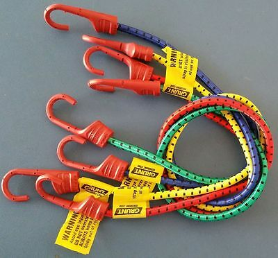 Bungee/Octopus/Occy Straps/Cords SUPER Strong Hooks Car/Boat/Trailer*GRUNT BRAND