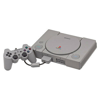 PlayStation 1 - Original Grey Console