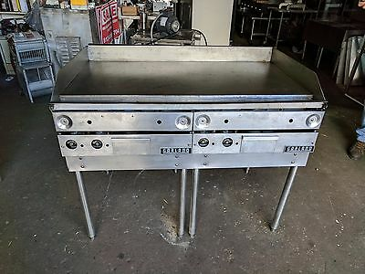 "Garland 48"" Gas (Lp) Griddle 4 Burner Thermostatically Controlled"