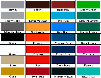 "3/4"" x 150 ft Roll Vinyl Pinstriping Pinstripe Tape  28 Colors available!"