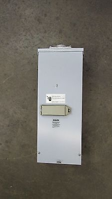 Cutler Hammer Rcc200Sebp 225A Amp Circuit Breaker Enclosure Bw2225 120/240V 3R