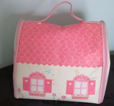 Early Learning Centre Rosebud Village:Storage Play Mat with accessories & Family