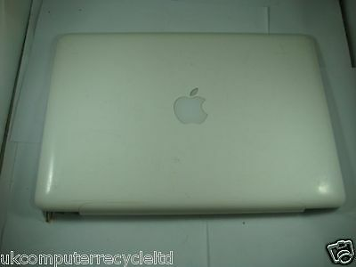 """2009 Apple Macbook 13"""" A1342 Lcd Screen Top Lid Cover Assembly -244"""