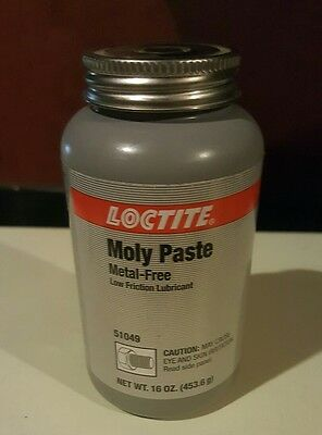 LOCTITE METAL FREE MOLY PASTE 51049 THREAD LUBRICANT 1lb CONTAINER WITH BRUSH