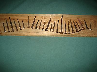 Antique Old Nails, Various Sizes, Repurpose Hardware, Old Barn Nails