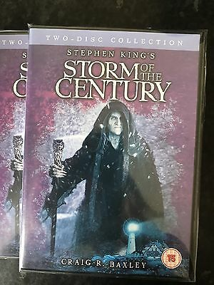 Stephen King's Storm Of The Century (DVD, 2006, 2-Disc Set) **New & Sealed**