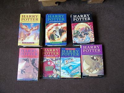 Harry Potter full set 1 to 7 Hardback paperback books