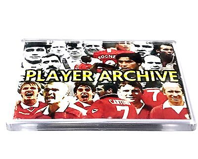 United Magnet Player Archive Football Gifts