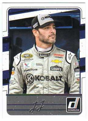 2017 Donruss Racing SP Variation #47 Jimmie Johnson