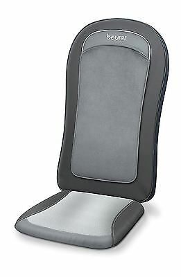 Beurer MG206 HD Relaxing Shiatsu Back Massage Seat Cover with Heat and Light