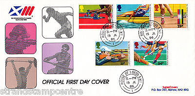 1986 Commonwealth Games - DGT 'Supercovers' cover - House of Lords CDS