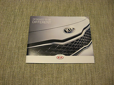 2013 Kia Sales Brochure - Full Line