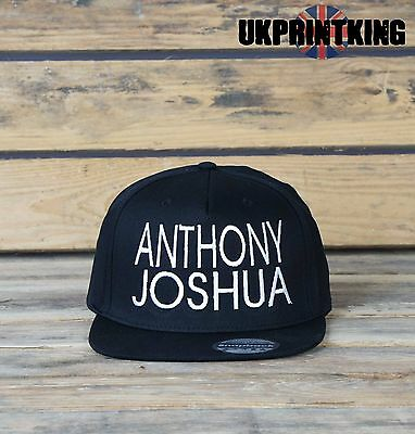 Anthony Joshua Snapback Hat Cap Fashion Embroidered Rapper Caps Hats Gift
