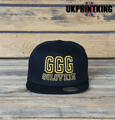 Cool Ggg Golovkin Snapback Hat Cap Fashion Embroidered Rapper Caps Hats Gold