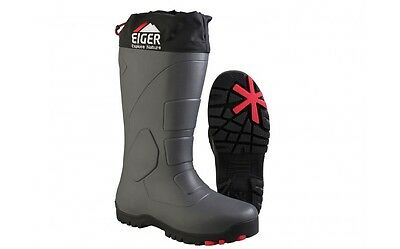 Eiger NEW Fishing Hiking Camping Grey Siberia Thermo Winter Boots *All Sizes*