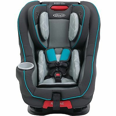 Graco Size4Me 65 Convertible Car Seat with RapidRemove Cover, Finch NEW FREESHIP