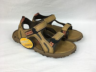 New MOSZKITO VIPER STING ARCHY Men's Sport Sandals Brown Leather 12