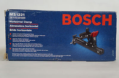 Bosch MS1221 Horizontal Quick Clamp for 4412, 4410, 5412L, 4410L New