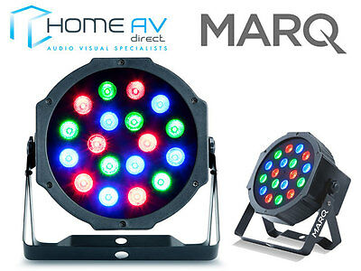 Marq Colormax P18 Compact Uplighter LED Parcan Disco Club Light Effect FREE P&P