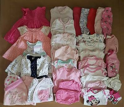 Baby girl clothes bundle First size/ Up to 1 months/ Newborn