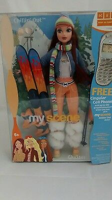 My Scene CHELSEA Doll CHILLIN OUT C1588 New NRFB Barbie Mattel 2003 Clothes Acc