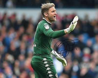 "Rob Green Hand Signed Leeds United 10""x 8"" 2017 Football Photo."
