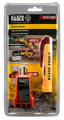 KLEIN TOOLS - Basic Voltage Test Kit With Dual Range