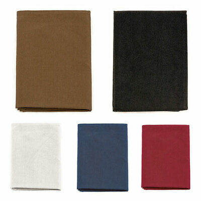 Plain Tablecloth Anti Stain Proof Resistant - Rectangle - Large Sizes
