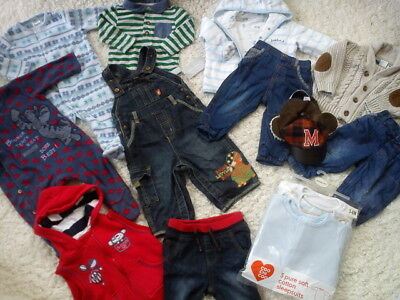 40x NEW USED WINTER AUTUMN BUNDLE OUTFITS 3/6 MTHS PHOTOS IN DESRIPTION