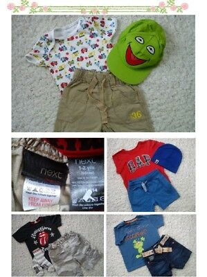 30x NEW USED SPRING SUMMER BUNDLE OUTFITS 12/18 MTHS PHOTOS IN DESRIPTION