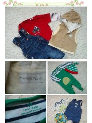 44x NEW USED BUNDLE OUTFITS CONRAN NEXT BABY BOY 0/3 MTHS PHOTOS IN DESCRIPTION