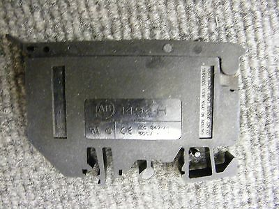 Allen Bradley Fuse Holder Cat No. 1492-H With Red Indicator DIN Rail Mount