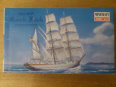 1:350 Minicraft no. 11305 Alto Ship Gorch Fock (German). Kit. conf. orig.