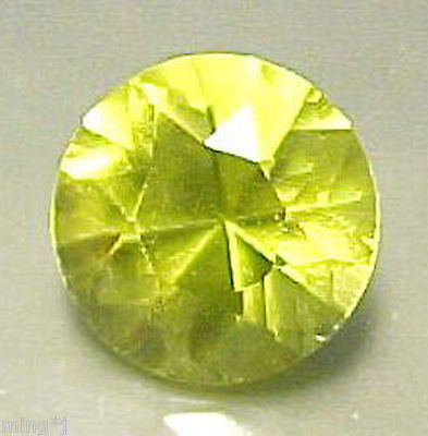 SUPERB COLOR! 8 mm BRILLIANT ROUND LEMON QUARTZ #R388