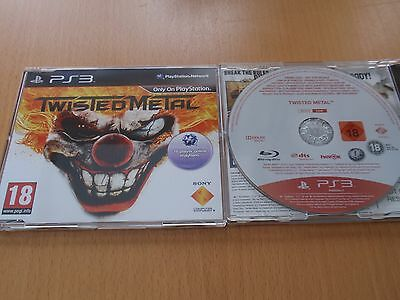 Twisted Metalfull game PROMO for the Sony Playstation 3 Brand New