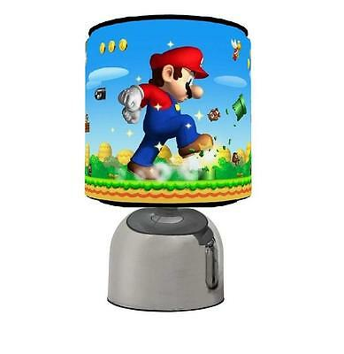 Mario Bros Touch Table Bedside Lamp Kids Room Brand New