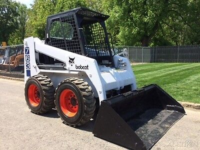 1997 Bobcat 763 Rubber Tire Skid Steer Loader Diesel Bob Cat Wheel Skidsteer