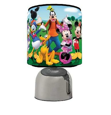 Mickey Mouse Touch Table Bedside Lamp Kids Room Brand New