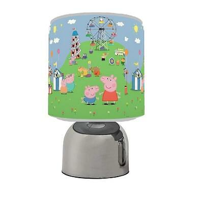 Peppa Pig Touch Table Bedside Lamp Kids Room Brand New