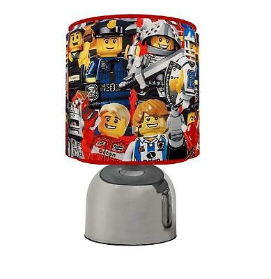Lego City Touch Table Bedside Lamp Kids Room Brand New