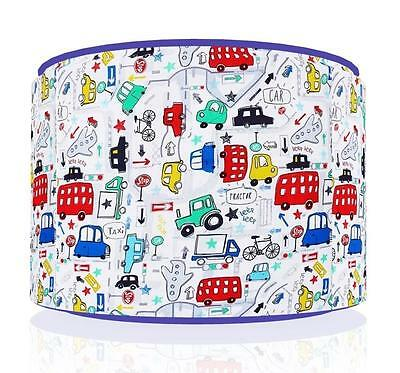 "Beep Beep Cars Tansport  Ceiling Light Lamp Light Shade 11"" Gaming  Free  P & P"