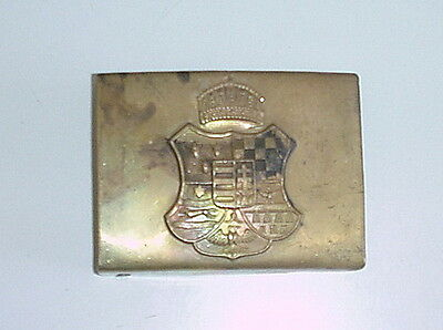 HUNGARIAN ARMY Pre WW1 late 1800's REPRO EQUIPMENT BELT BUCKLE